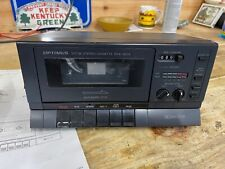 Optimus Sct-86 Model No.14-654 Stereo Single Cassette Deck!