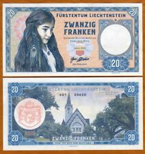Liechtenstein, 20 Francs, 2020, Private issue > Girl with peacock feather