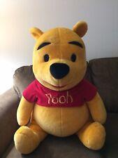 "Winnie the Pooh Bear Plush Stuffed Animal Oversized Disney Toy Large 26"""