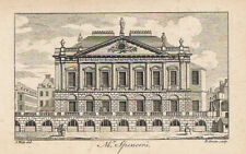 LONDON Spencer House - Antique Print c1760