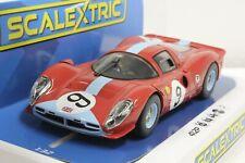 Scalextric C3946 Ferrari 412P Brands Hatch 1967, #9 1/32 Slot Car