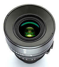Customized cine lens sigma18-35mm f/1.8 Canon EF mount for RED, BMCC, BMPCC