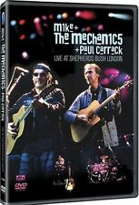 MIKE & THE MECHANICS & PAUL CARRACK LIVE SHEPHERD'S BUSH LONDON New DVD Cut UPC