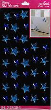 Jolee's All That Bling XL ***BLUE PUFFY STARS & GEMS***
