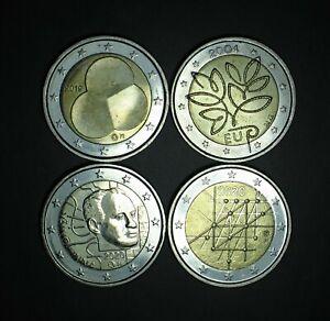 2004 2019 2020 2020 FINLANDE FINLANDIA 2 euro COMMEMORATIVE