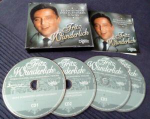 4xCD Fritz Wunderlich Best Of Greatest Hits Erfolge Schöne Müllerin Rezital Saal