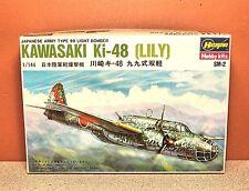 1/144 HASEGAWA KAWASAKI Ki-48 LILY MODEL KIT # SM02:200
