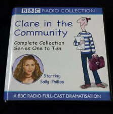 Clare in the Community Complete Collection Series 1 to 10 Box Set 30 CD's