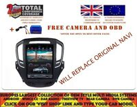 TESLA DVD GPS NAVI BT ANDROID 7.1 DAB WIFI VAUXHALL OPEL INSIGNIA 14+ 1053 BROWN
