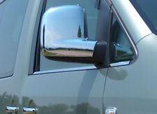 VW T5 Vans Caddy CHROME MIRROR COVERS - ABS Plastic upto 2010
