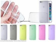 Soft Silicone Clear Gel TPU Cover Case For iPhone 4 5 6Plus X 11 Pro Max S7 EDGE
