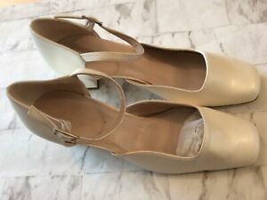 Ladies Pia Jamett Size 6.5 Cream Wedding Shoes, New Shop Clearance