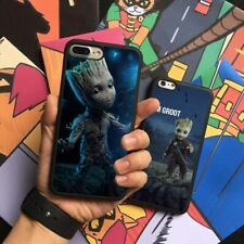 Groot Guardians of the Galaxy Silicone Phone Case Cover For iPhone Samsung