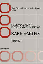 NEW Handbook on the Physics and Chemistry of Rare Earths, Volume 21