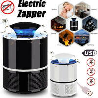 Electric Fly Bug Zapper Mosquito Insect Killer LED Light Trap Lamp Pest Control~