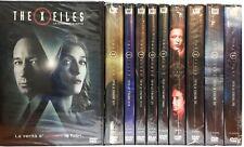 62 Dvd x 10 Box Cofanetto THE X FILES ♦ LA SERIE COMPLETA + LA STAGIONE EVENTO