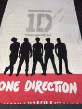 SINGLE DUVET SET 1D NEXT One Direction Red & White Immaculate Used Once