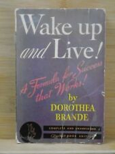 Wake Up and Live! A Formula for Success That Works! by Brande, Dorothea Pocket