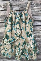 Simply Vera Wang Women's Floral Lined Top Sleeveless Pullover Tunic Sz XS EUC