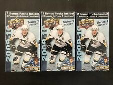 Lot of 3 2009-10 Upper Deck Series 1 Hockey Blaster Boxes Tavares Young Gun?