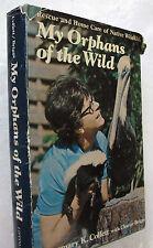 Collett  Rescue Homecare Wildlife Orphans Florida 1974 Signed Audubon Biography