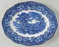 """Wedgwood WOODLAND 13 7/8"""" Oval Serving Platter 2193494"""