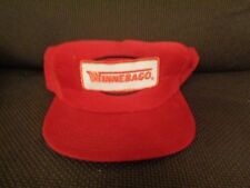 Vintage Winnebago Snapback Hat Snap Back Red Made in Usa