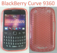 TPU gel silicone case cover diamond red for BlackBerry Curve 9350 9360 9370