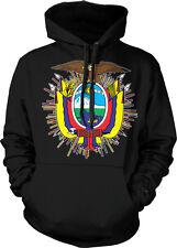 Ecuador Coat Of Arms Ecuadorian Latino Pride Olymipcs Hoodie Pullover