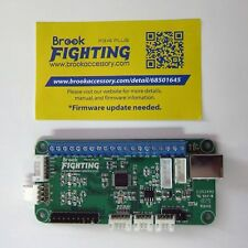 New Brook PC PS4 PS3 Fighting Board Plus Fight DIY Kit Turbo Rapid Fire to for