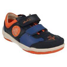 Scarpe blu con luci per bambini dai 2 ai 16 anni
