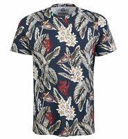 American Rag Men's Floral Short-Sleeve Crew-Neck Cotton Tee T-Shirt - Pick Size