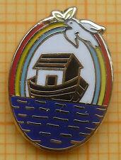 Masonic Lapel Pin Badge - RAM Royal Ark Mariners  10x17 mm