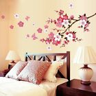 Flowers Removable Wall Stickers Decal Art Vinyl Flower Mural Home Room Decor DIY