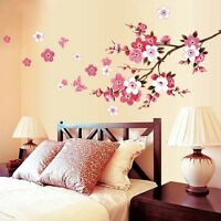 Lovely Flower Removable Wall Stickers Art Vinyl Quotes Mural Room Home Decor DIY