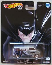 Hot Wheels Pop Culture series DC Alex Ross CUSTOM '77 DODGE VAN ** IN HAND ** !!