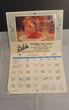 Lawrenceburg Indiana VINTAGE 1970 Probst Dairy Milk Co. CALENDAR