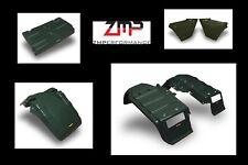 NEW HONDA ATC250ES BIG RED COMPLETE PLASTIC OLIVE GREEN FENDER KIT ATC 250ES SET