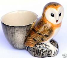 Barn Owl Bird of Prey China Egg Cup Gift Boxed
