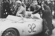 Porsche 550A RS Spyder & de Beaufort & Linge – 24 hours Le Mans 1958 - photo