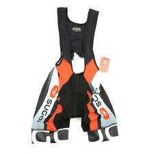 Sugoi Bike Cycling RS Pro Bib Shorts Small Black/White/Red
