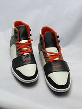 New Creative Recreation Cesario High Sneakers Shoes Leather Black Papaya Size 12