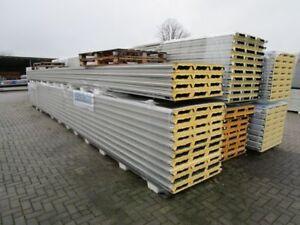 (27,75€/m²) 30mm Sandwichplatten II.Wahl Isoplatten Dachplatten