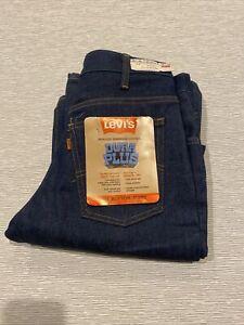 Levis Vintage Bellbottom Jeans #646 Orange Tab 30/30 original tags no big e