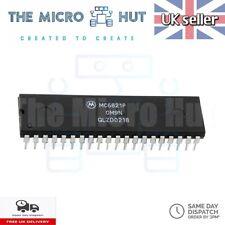 More details for mc6821p mc6821 peripheral interface adapter ic for motorola 40-pin dip