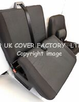 VW Transporter T5 Van Seat Covers- OEM Seating Fabric- Made to Measure IN STOCK!