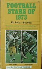 1973 FOOTBALL STARS BOOK (LARRY BROWN, LARRY CSONKA CV, DICK BUTKUS, JOE GREENE+