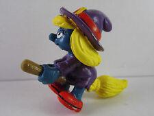 A49- Schlumpf / Smurf 2.0198 Schlumpfinchen auf Besen / witch