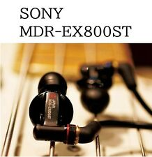 SONY MDR-EX800ST Canal Type In-ear Headphones Case Gold Plated Plug