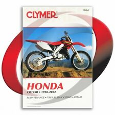 1998-2002 Honda CR125R Repair Manual Clymer M464 Service Shop Garage